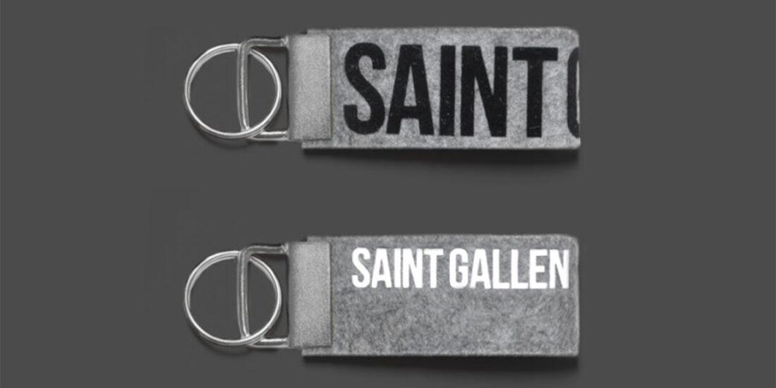 Schlüsselanhänger St.Gallen