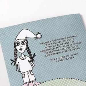 Galinka Kinderbuch bei Clarissa Schwarz