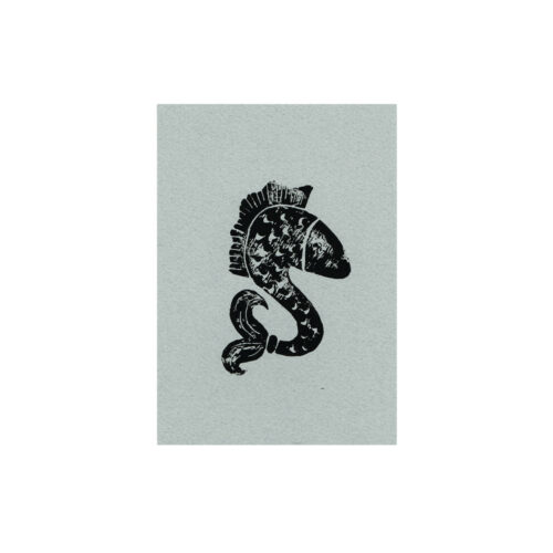 Linoldruck von Illustratorin und Künstlerin Clarissa Schwarz in A5
