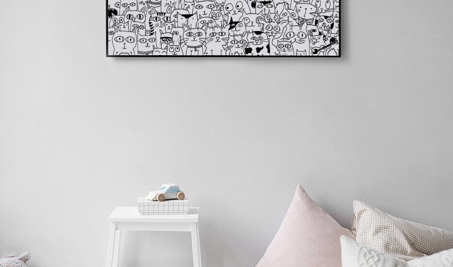 Poster Kinderzimmer Schweiz